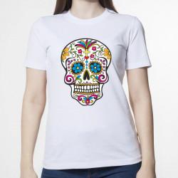"""Colored Ethnic Skull"""
